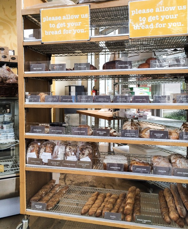 Love joy  Bakery Bread Rack