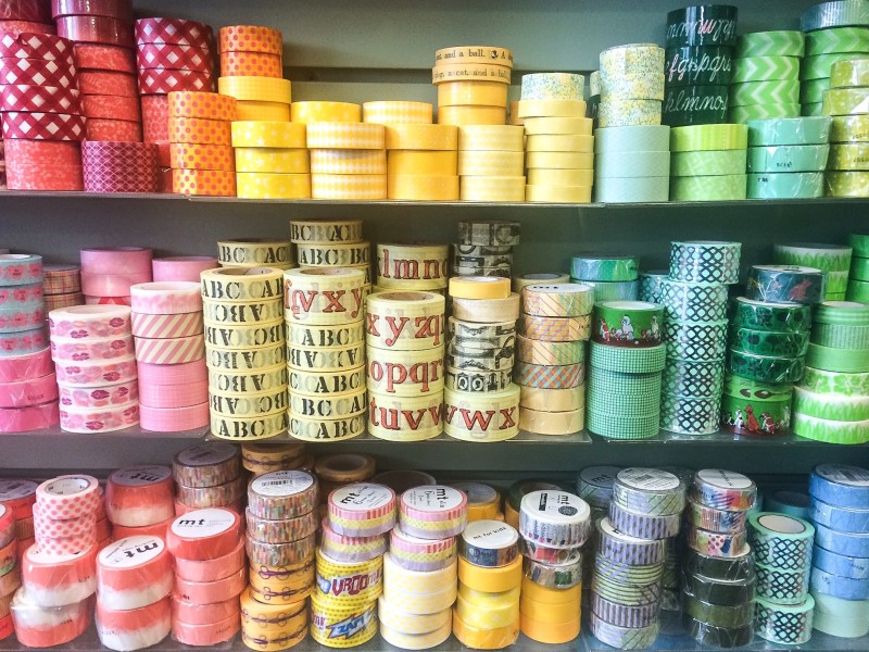Washi Tape at Collage, Portland