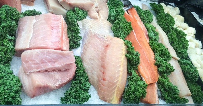 Fresh Fish Selection, Uwajimaya, Beaverton