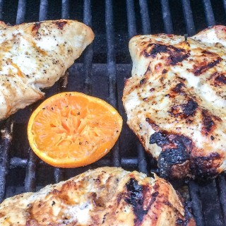 Grilled Tequila-Tangerine Chicken Breast