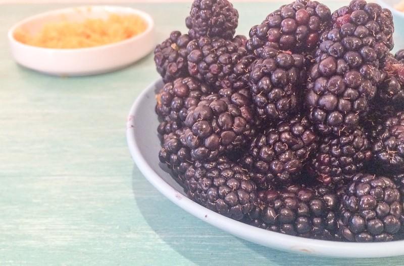 Blackberries for Coffee Cake, Portland
