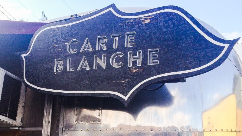 Carte Blanche Food Cart, Portland