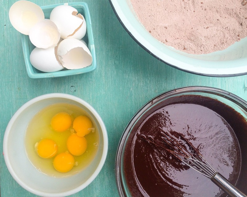 Homemade Bittersweet Brownie Recipe