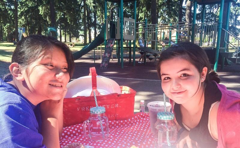 Picnic at Alberta Park with Bake Shop Goodies, Portland