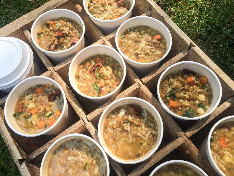 Lentil and Sausage Soup for Firefighters, 9/11