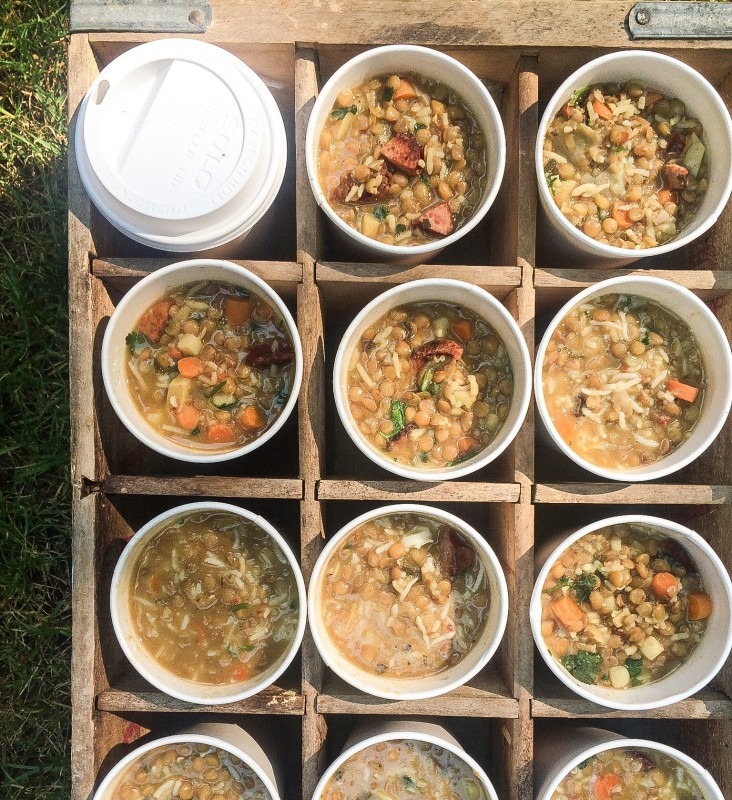 Lentil and Sausage Soup, 9/11 firefighters