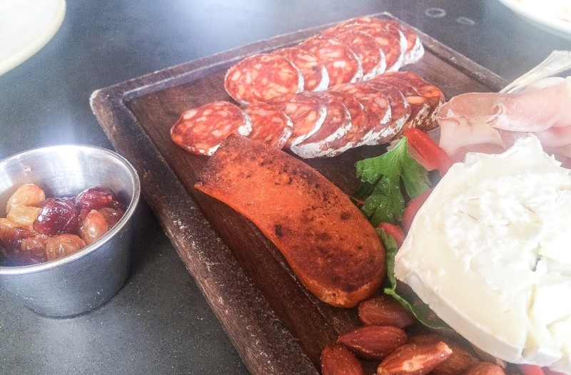 Spanish Charcuterie Platter at Olympia Provisions