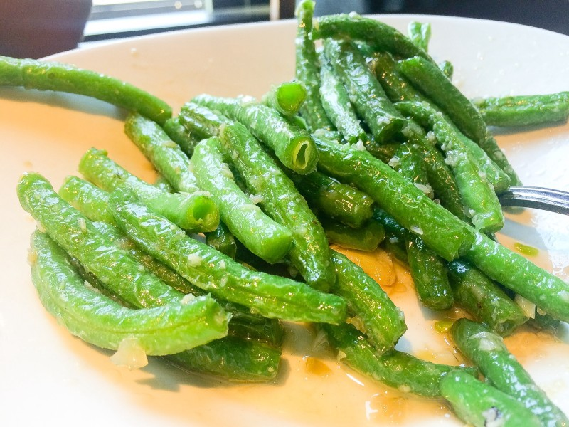 Green Beans at Din Tai Fung, Seattle
