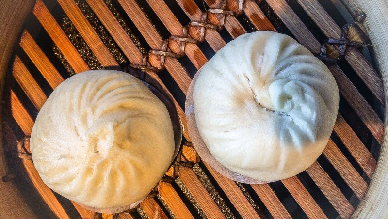 Pork Buns from Din Tai Fung, Seattle