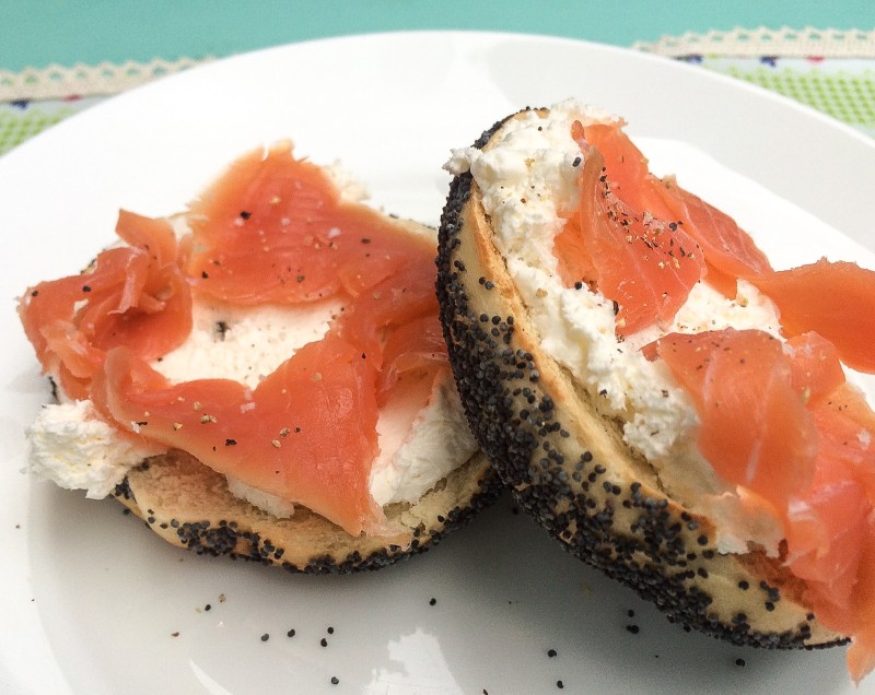 Best Bagel -- Eltana Poppy Bagel with Smokery Lox