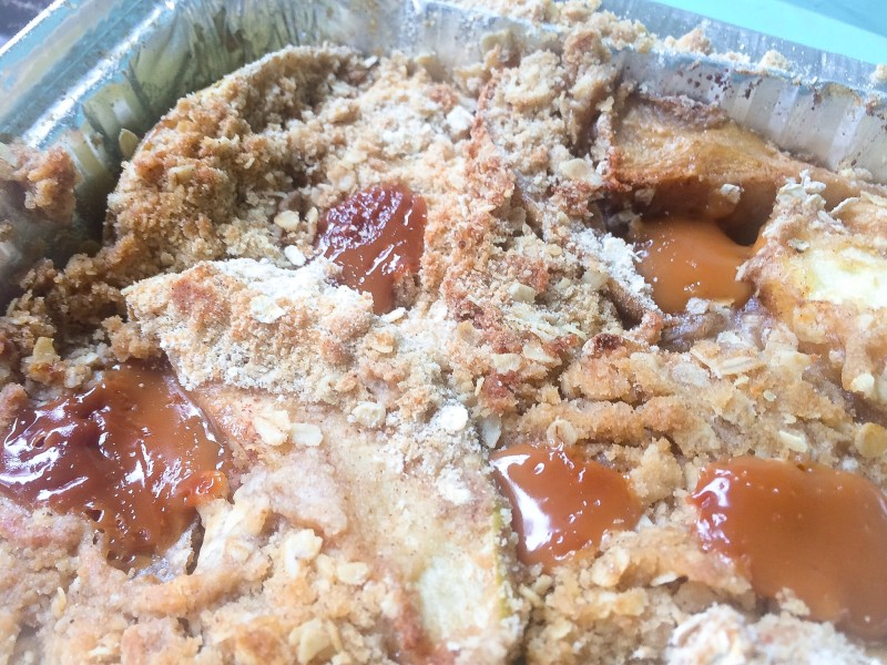 Apple Caramel Crisp