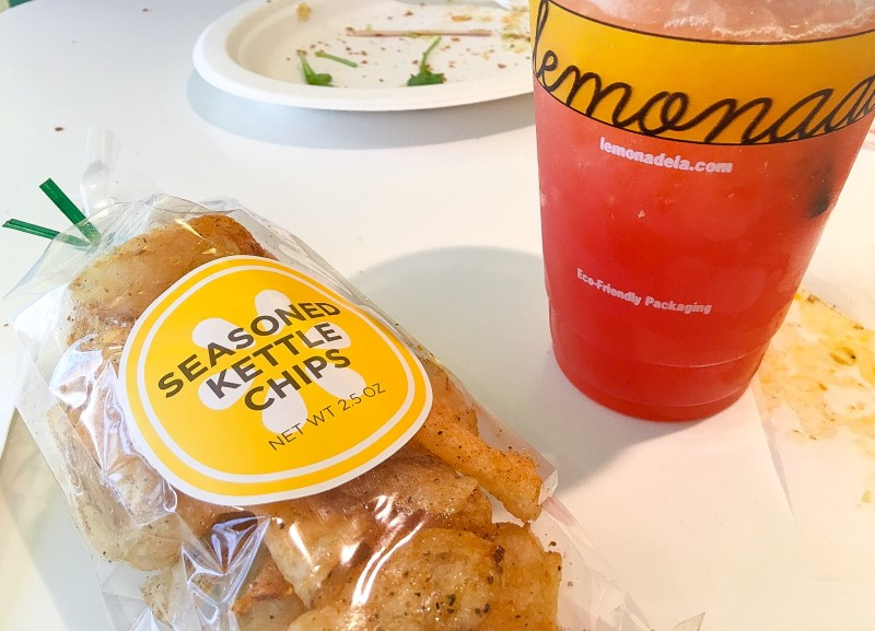 Lemonade and Chips at Lemonade, LA