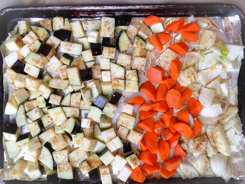 Roasted Vegetables for Quinoa Salad