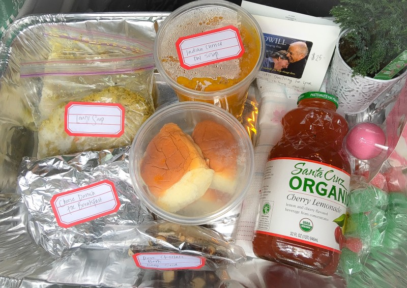Meals on Wheels Gift Package