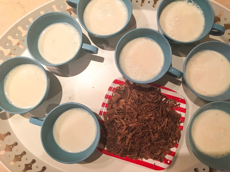 Homemade Cocoa Party, Vanilla Steamer