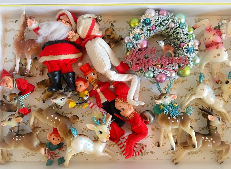 Putting away Vintage Ornaments