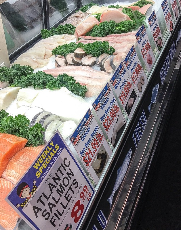 Fish Counter at Uwajimaya, Beaverton