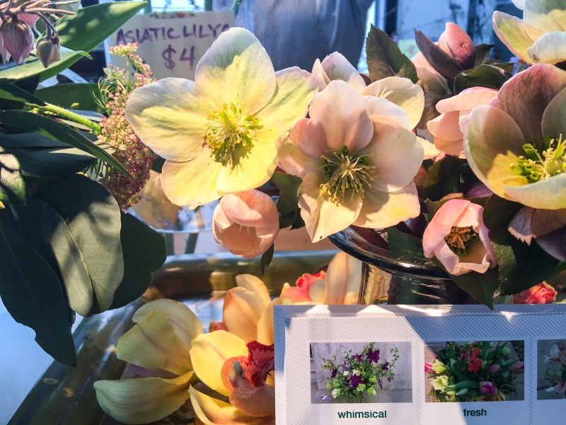 Flowers from Providore Fine Foods, Portland