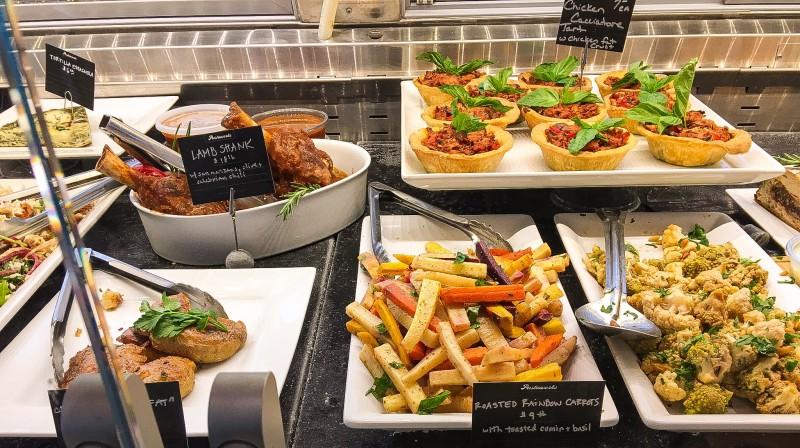 Deli Display Case at Providore Fine Foods, Portland