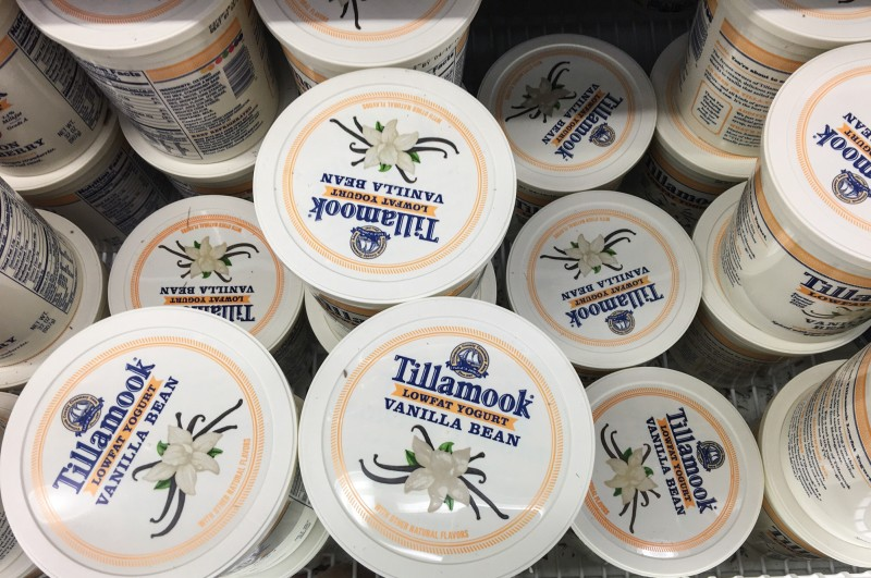 Tillamoook Yogurt at Winco, Portland