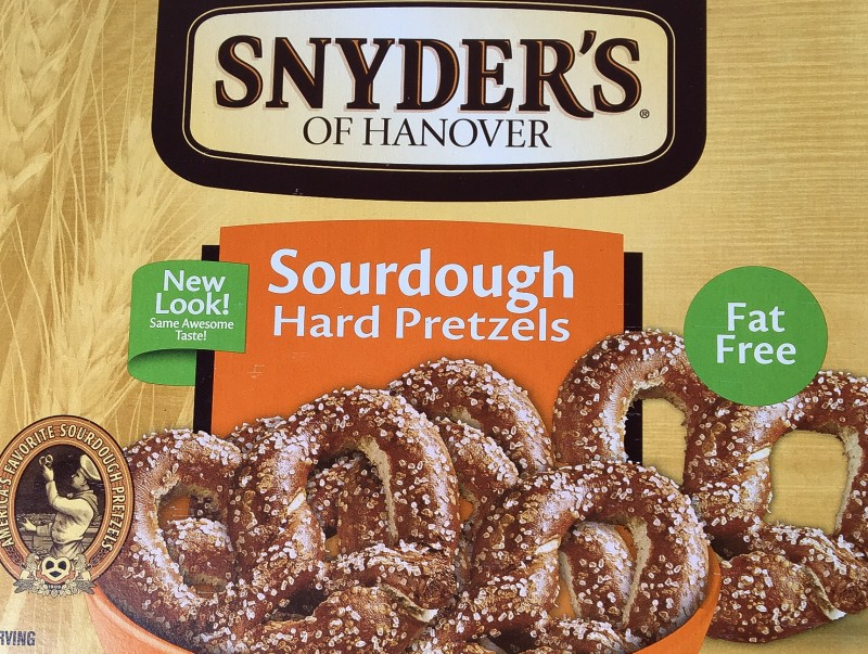 Snyder's Pretzels at Winco Portland