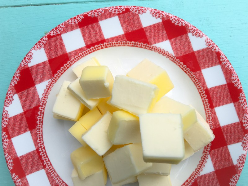 Butter for Triple Chocolate Fudge Cookies