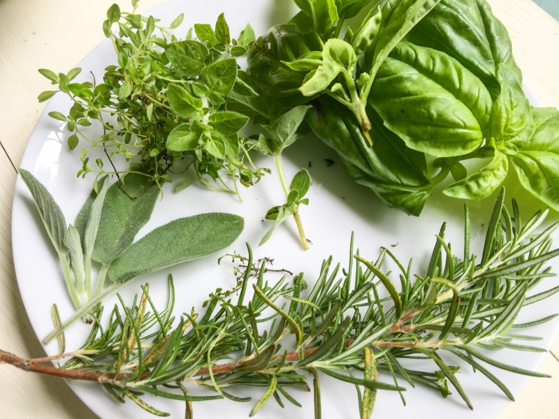 Herbs for Meatloat