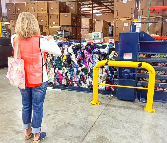 Goodwill Bins Tour, Portland, Behind the Scenes