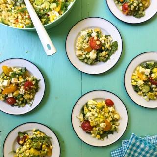 Corn Salad for Potluck