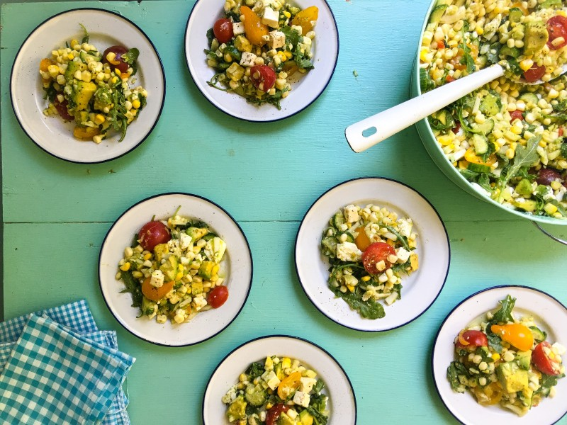 Corn Salad for Potluck