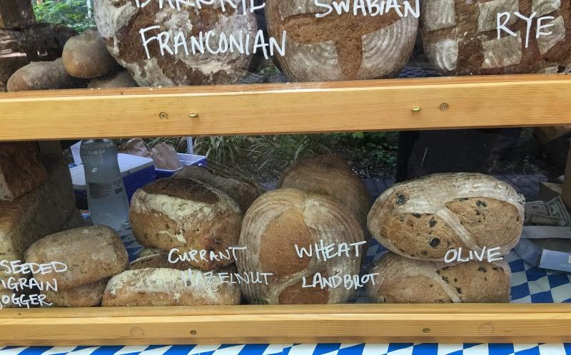 Bread from Fressen Bakery, Portland, PSU Farmers Market
