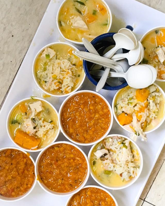 Egyptian Red Lentil and Greek Lemon Chicken Soup For Teacher Appreciation