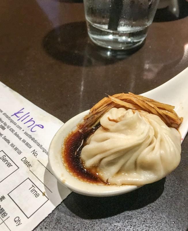 XLB Dumplings at Din Tai Fung, Seattle