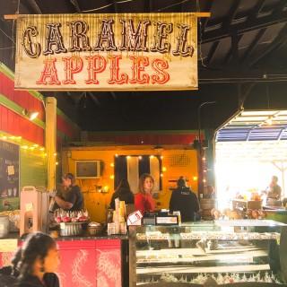 Caramel Apples at Krugers Farm, Sauvie Island