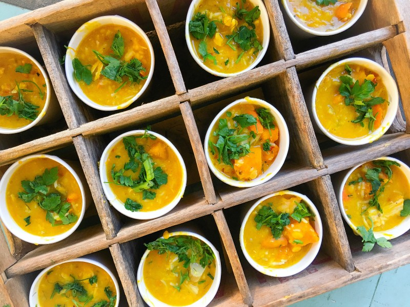 Kabocha Squash and Dal Soup
