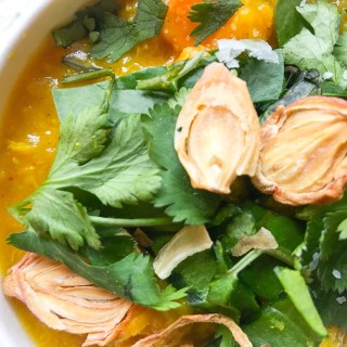 Chicken Turmeric Dal Soup