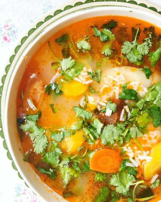 Tom Kha Gai Thai Chicken Soup