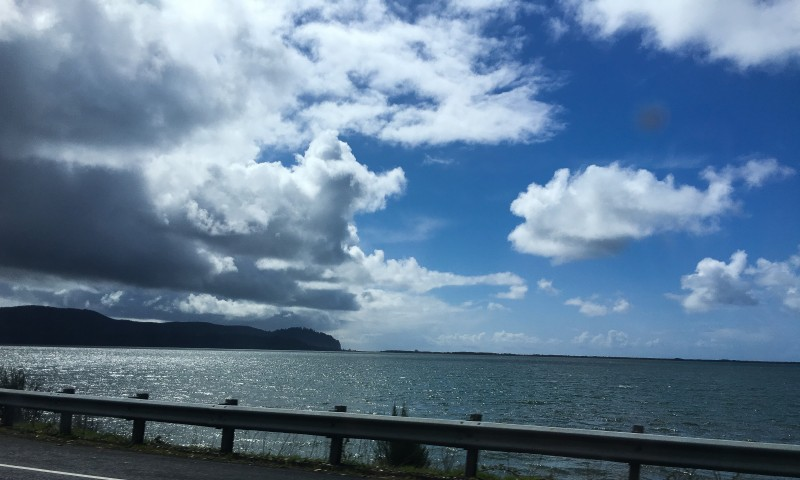 Driving to ROckaway Beach