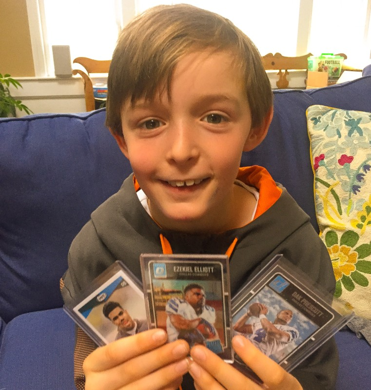 Christian and Football Cards