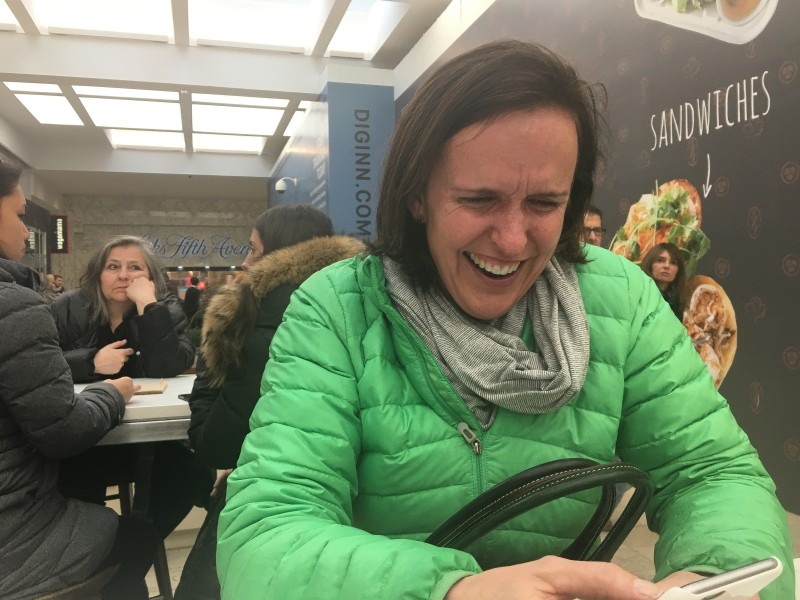 Polly Laughing