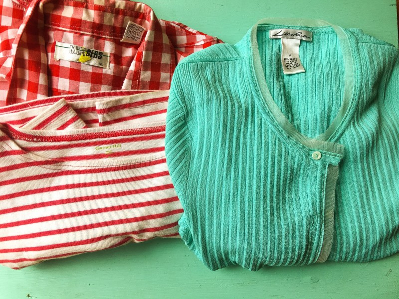 Shirts at Portland Goodwill Bins Outlet Bins Finds -