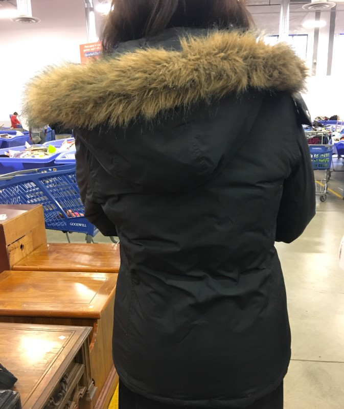 Dale at Portland Goodwill Bins Outlet Bins Finds -