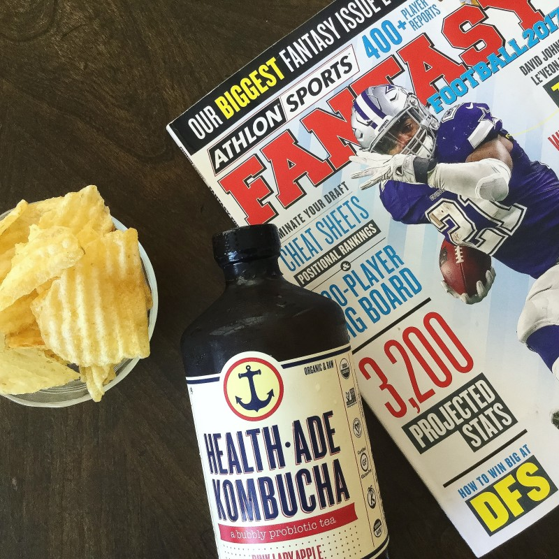 fantasy football and kombucha