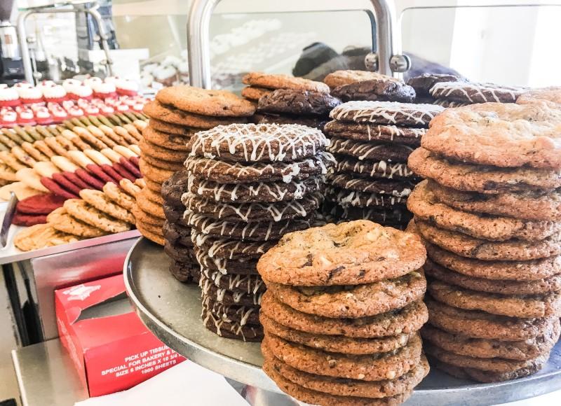 Cookies at Milk Shop LA Los Angeles
