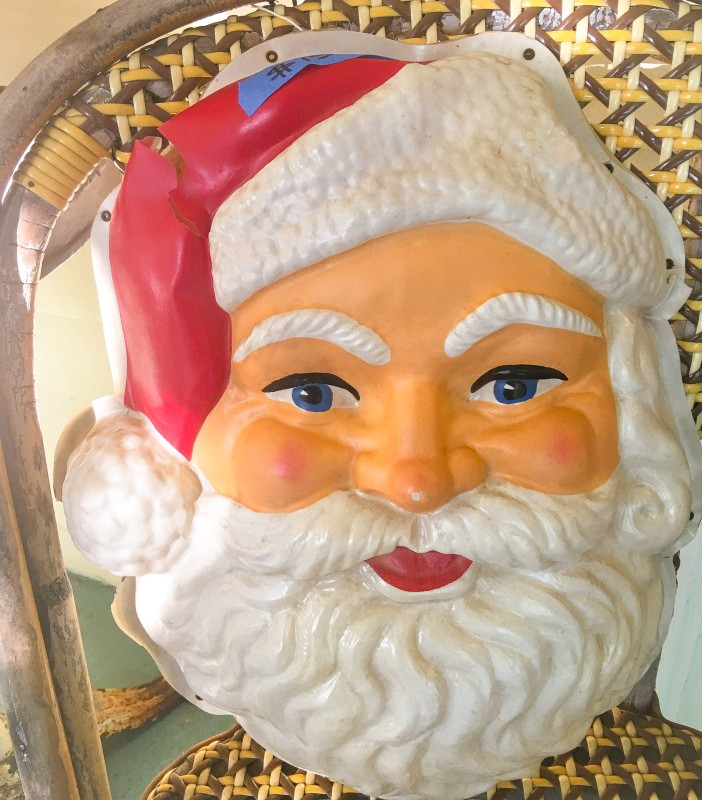 Santa from Magpie Ethel's Laurie Romaneggi Eastmoreland Garage Sale