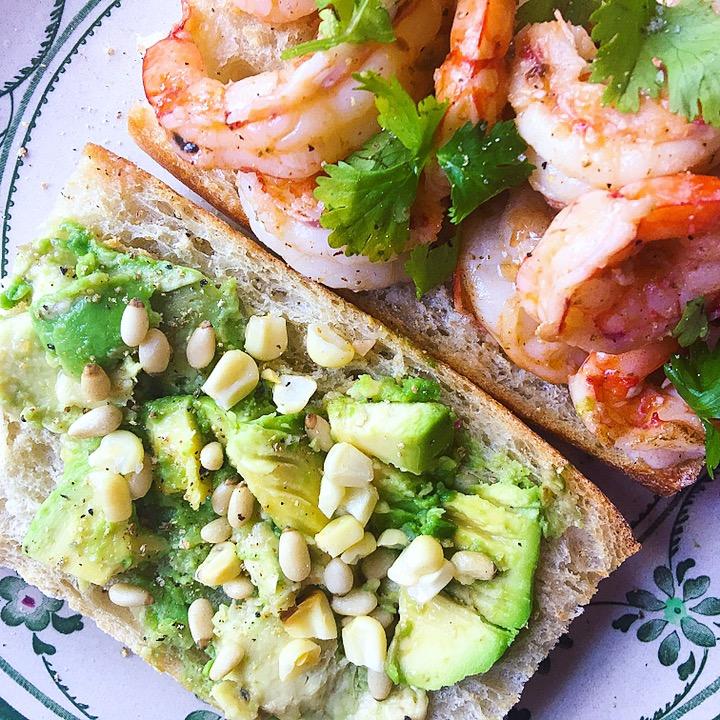 Shrimp, Avocado and Corn Salad