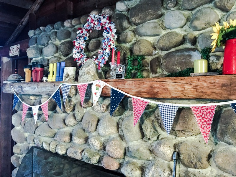 Cabin WIsconsin Bunting