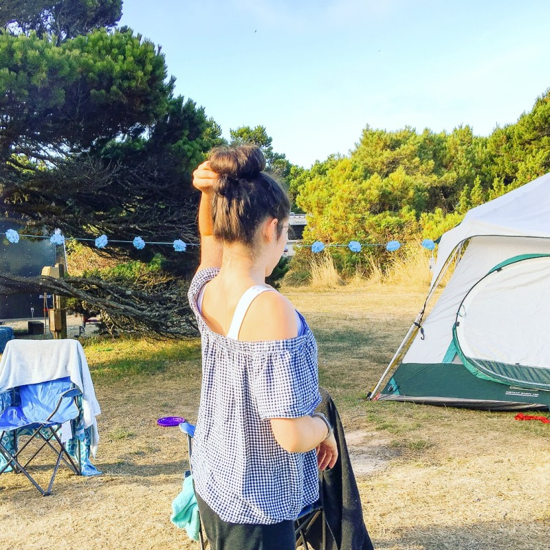Charlotte Camping Camping Glamping Oregon Coast Nehalem
