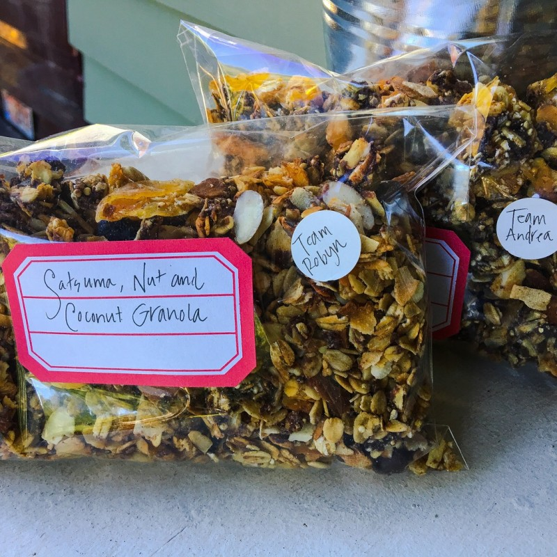 Satsuma Chocolate and Coconut Granola