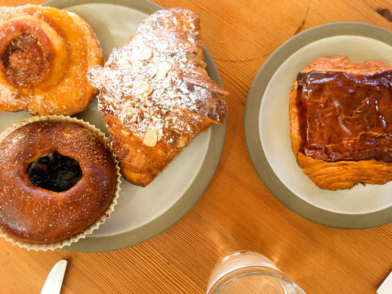 Pastries at Tartine Manufactory